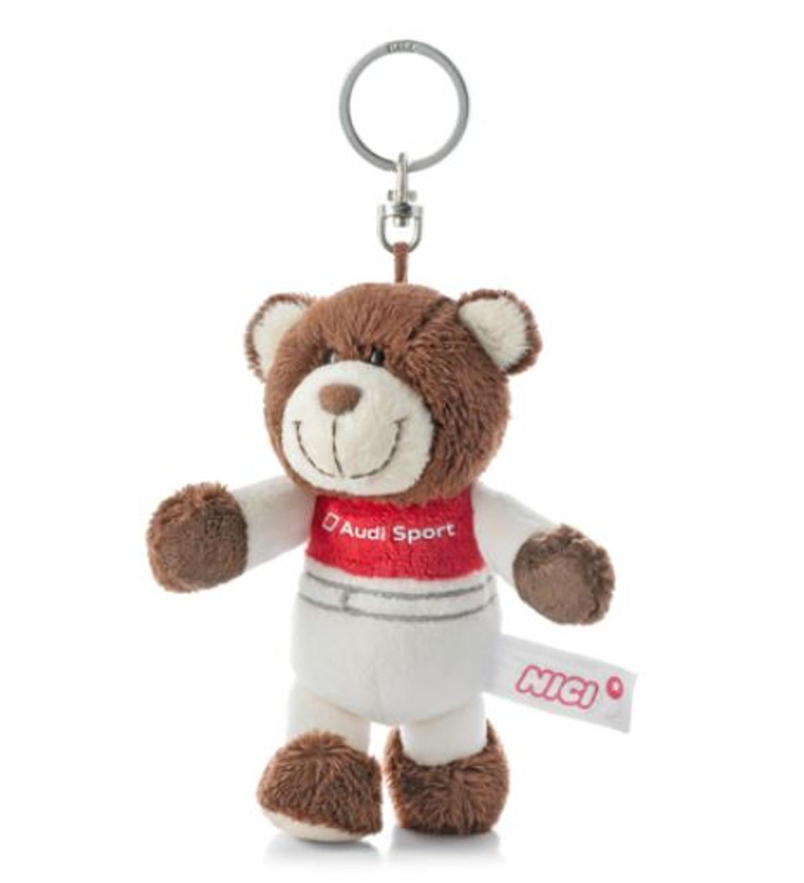 Genuine Audi Sport Bear Keyring - 3181900100