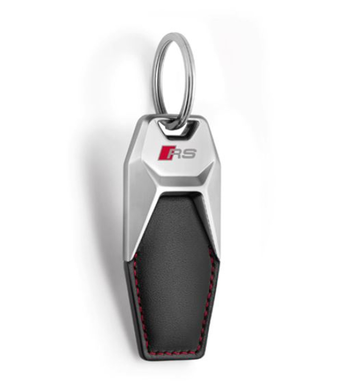 Genuine Audi Sport RS Leather Keyring - 3181900701