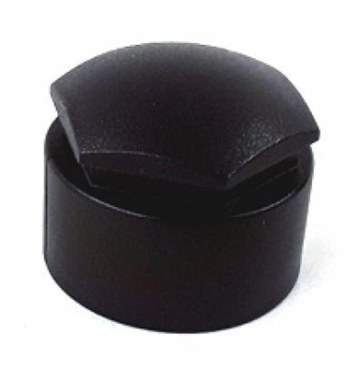 Set of Audi Wheel Bolt Caps 2016+ BLACK
