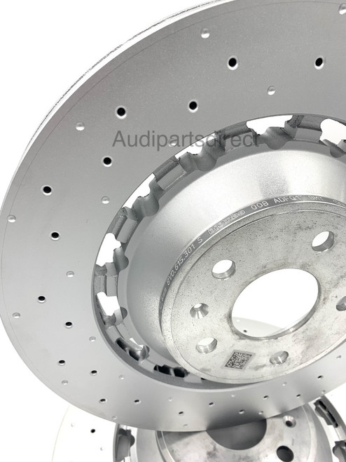 Genuine Audi RS3 Sportback 2016-2021 front brake disc set 8V0615301S
