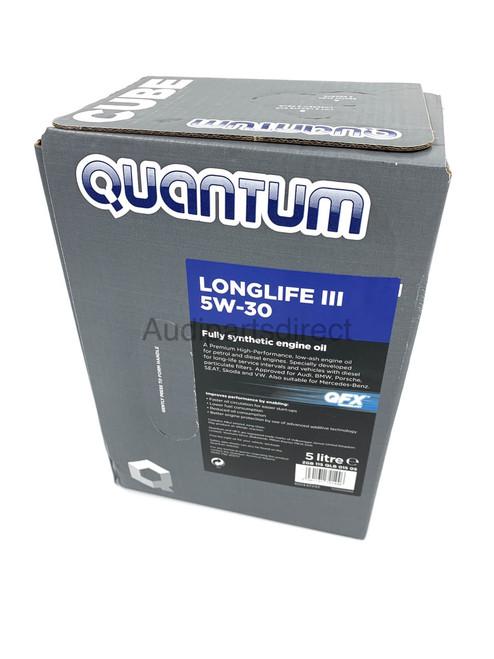 Quantum Longlife III 5W30 Fully Synthetic Oil 5L