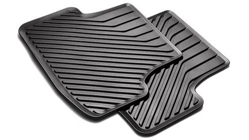 Front Rubber Floor Mats 8V2061501041 New Genuine Audi A3 8V 2013