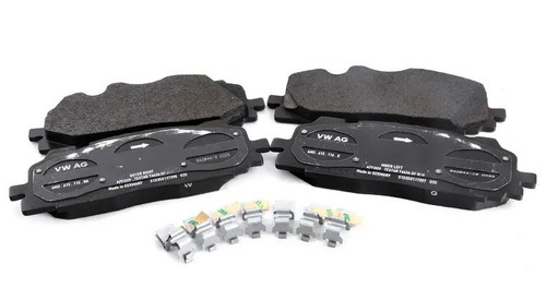 Genuine Audi Front Brake Pad Set  4M0698151T
