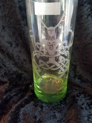 Pagan Glass - Cernunnos Collins Glass