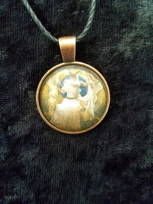 Frigg 3 (dome necklace)