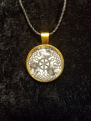The Three Norns (dome necklace)