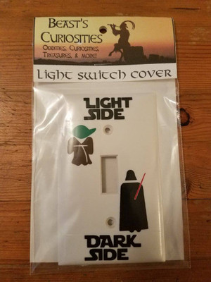 Star Wars - Yoda/Vader Light Switch Cover