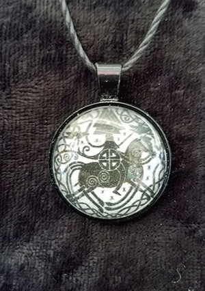 Odin 3 (dome necklace)