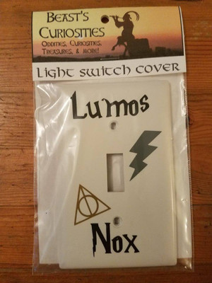 Harry Potter - Lumos/Nox Light Switch Cover