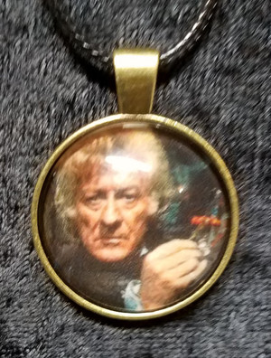 Doctor Who - Jon Pertwee - 3rd Doctor (dome necklace)