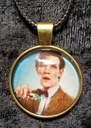 Doctor Who - Matt Smith - 11th Doctor (dome necklace)