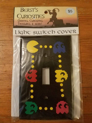 Games - Pacman Light Switch Cover