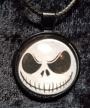 Nightmare Before Christmas - Jack Skellington (dome necklace)