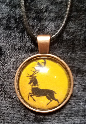 Game of Thrones - House Barathian  (dome necklace)