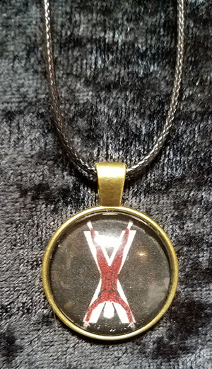 Game of Thrones - House Bolton (dome necklace)
