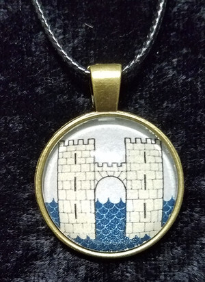 Game of Thrones - House Frey (dome necklace)