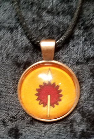 Game of Thrones - House Martell (dome necklace)