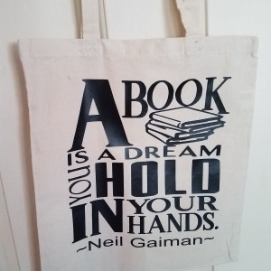 Book Bags - A Book Is A Dream You Hold In Your Hand