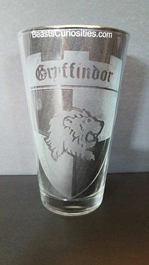 Harry Potter Glass - Gryffindor