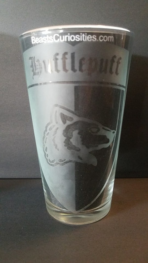 Harry Potter Glass - Hufflepuff