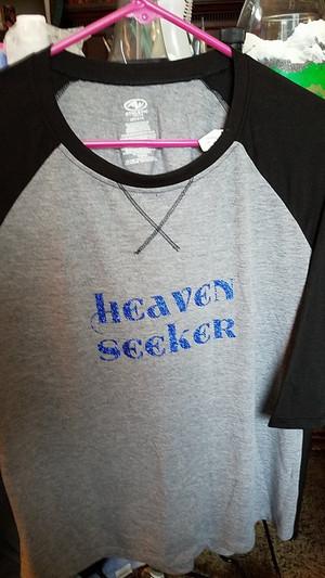 Heaven Seeker -Ladies long sleeve t-shirt (Large 10-12)
