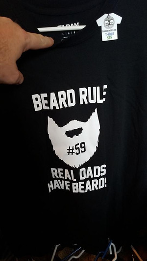 Real Dads Have Beards t-shirt - Large