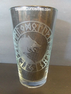 Viking Glass - Hati & Skoll