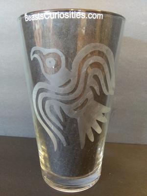 Viking Glass - Odin's Raven