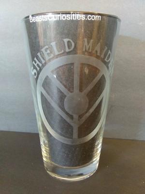 Viking Glass - Shield Maiden