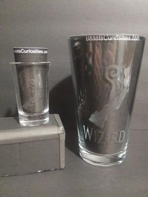 D&D Glass - Wizard
