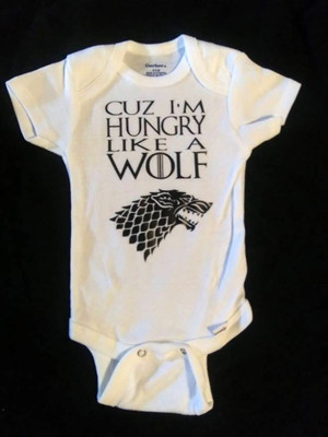 Onesie - Game of Thrones - Hungry Like A Wolf