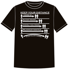 T-Shirt - Keep Your Distance