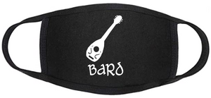 D&D Face mask - Classic Bard