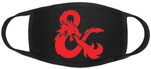 D&D Face mask - D&D Logo