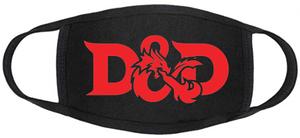 D&D Face mask - D&D Full Logo