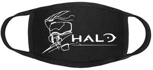 Gamerz Face mask - Halo - Logo