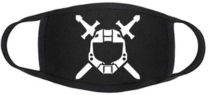 Gamerz Face mask - Halo - Swords