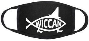 Pagan Face Mask - Wiccan Fish