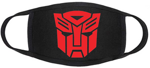 Comic Book Face Mask - Autobots