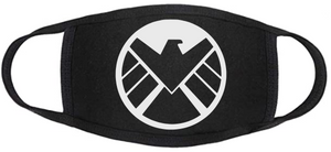 Comic Book Face Mask - Shield