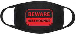 Supernatural Face Mask - Beware Hellhounds