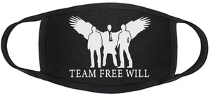Copy of Supernatural Face Mask - Team Free Will