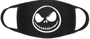 Nightmare Before Christmas Face Mask - Jack Face 1