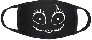Nightmare Before Christmas Face Mask - Sally