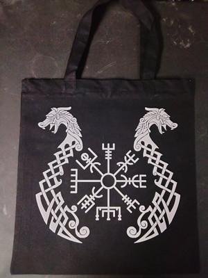 Book Bag - Vegvisir with Dragons