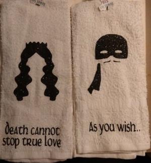 Hand Towel - Princess Bride set