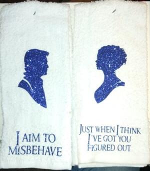 Hand Towel - Mal & Inara