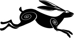 Celtic Leaping Hare