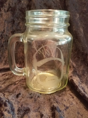 Supernatural Glass - Idgit Mason Jar Glass