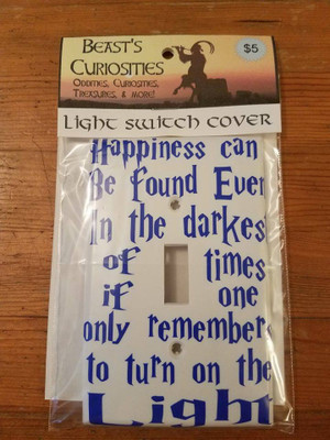 Harry Potter - Turn on the Light Switch Cover